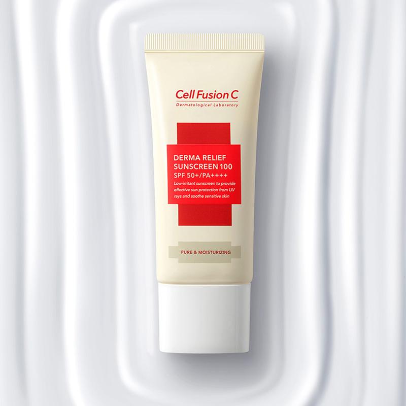 Kem Chống Nắng Céll Fùsion C Derma Relief Sunscreen 100 SPF50+/PA++++