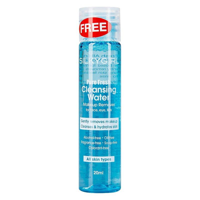 Nước Tẩy Trang SILKYGIRL Pure Fresh Cleansing Water Makeup Remover 20ml
