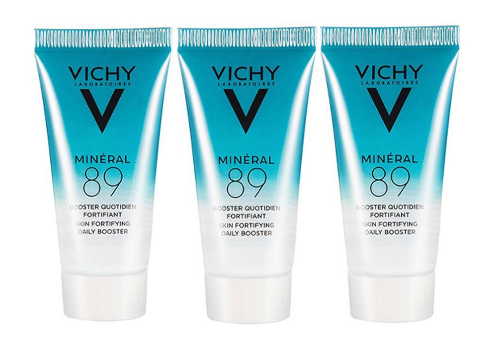 Combo Vichy Dưỡng Chất Giàu Khoáng Chất Phục Hồi Chuyên Sâu 3x15ml