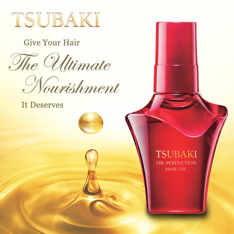 Tsubaki Oil Perfection Hair Oil 50ml