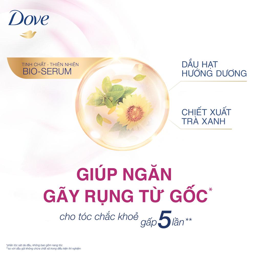 Dầu Gội Dove Bio-Serum Ngăn Gãy Rụng Tóc