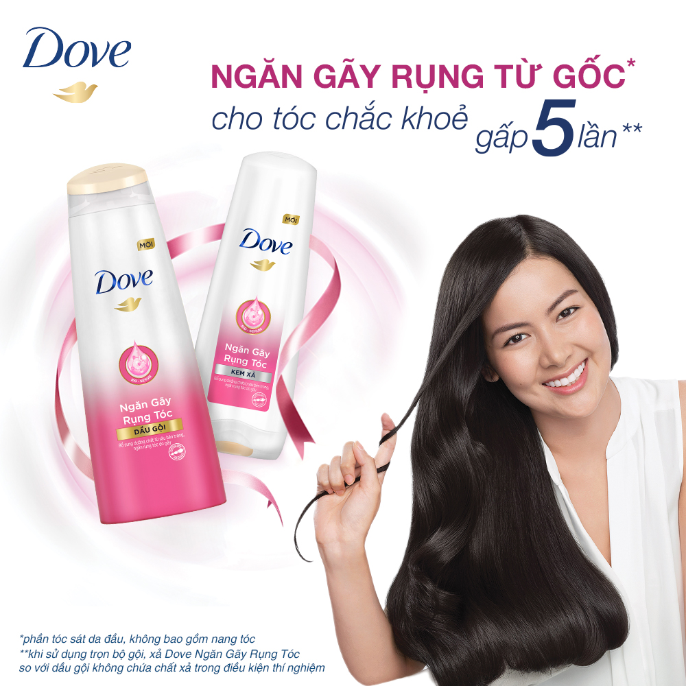 Dầu Gội Dove Bio-Serum Ngăn Gãy Rụng Tóc (Mới)