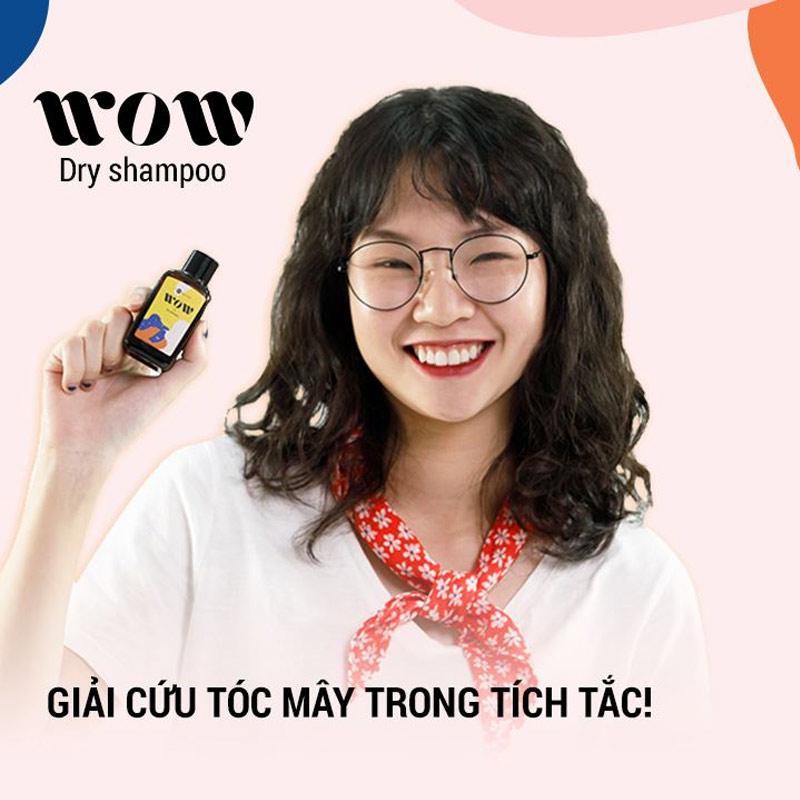 Dầu Gội Khô BareSoul WOW Dry Shampoo