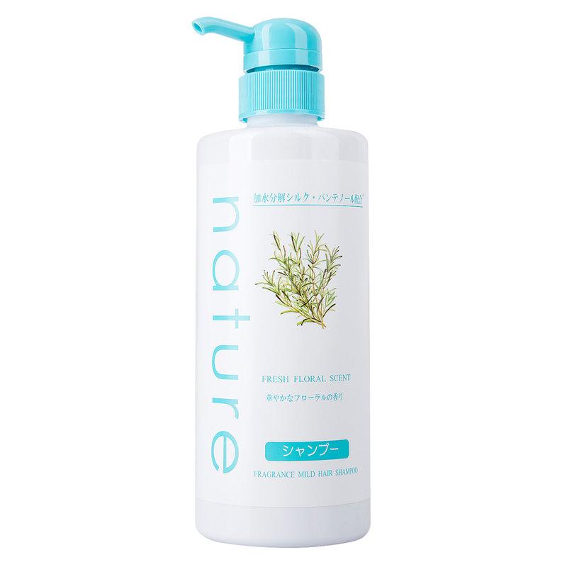 Dầu Gội Naris Nature Dịu Nhẹ Hương Hoa Tươi Mát Fresh Floral Scent Fragrance Mild Hair Shampoo 500ml
