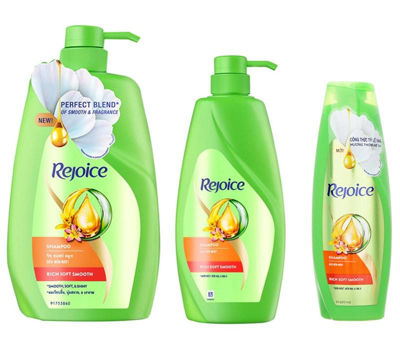 Dầu Gội Siêu Rejoice Mềm Mượt Rich Soft Smooth Shampoo