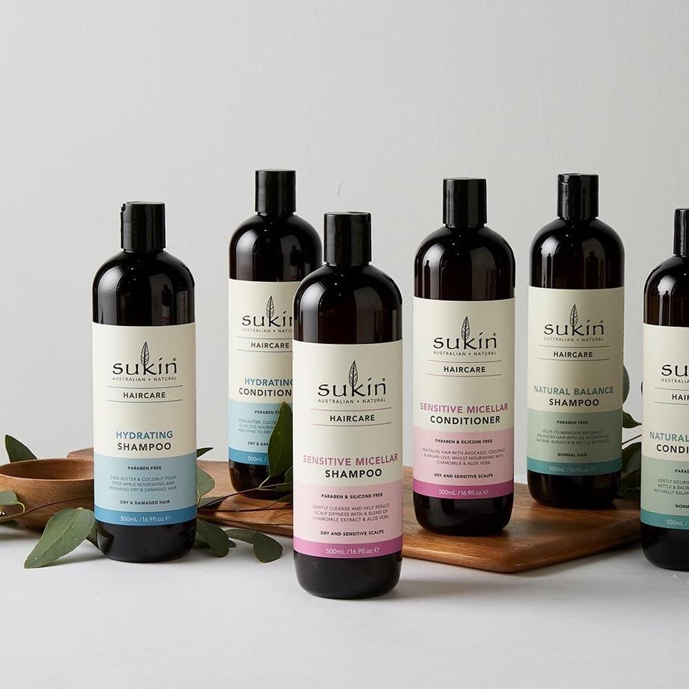 Dầu Gội Sukin Chiết Xuất Thiên Nhiên Haircare Shampoo 500ml