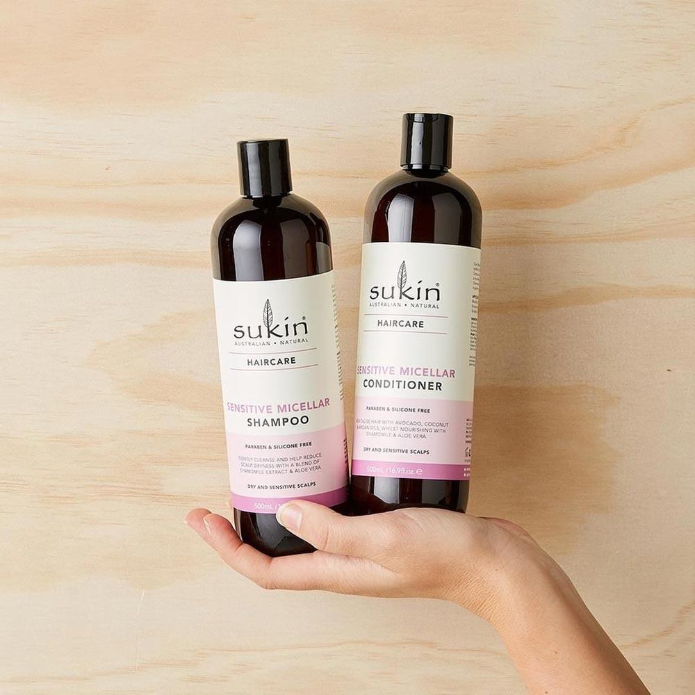 Dầu Gội Sukin Volumising Làm Tăng Phồng Tóc Haircare Volumising Shampoo