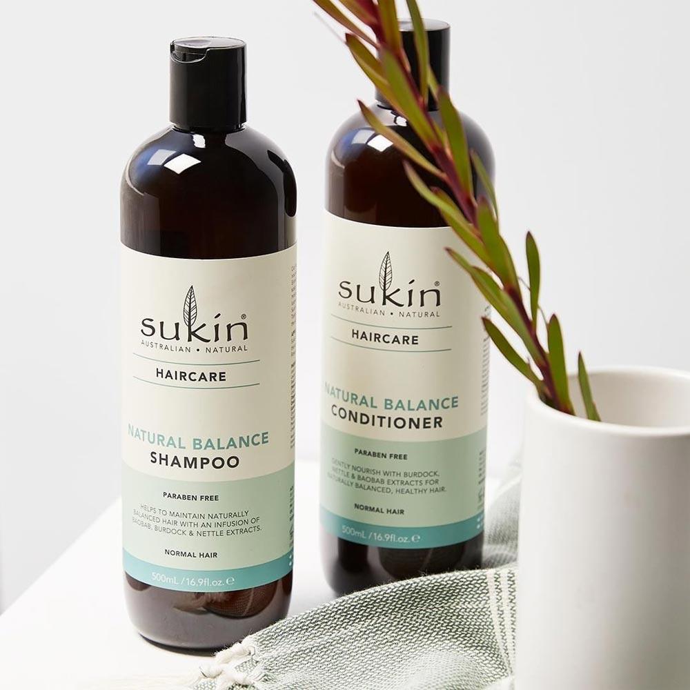 Dầu Gội Sukin Natural Balance Cân Bằng Từ Thiên Nhiên Haircare Natural Balance Shampoo 500ml