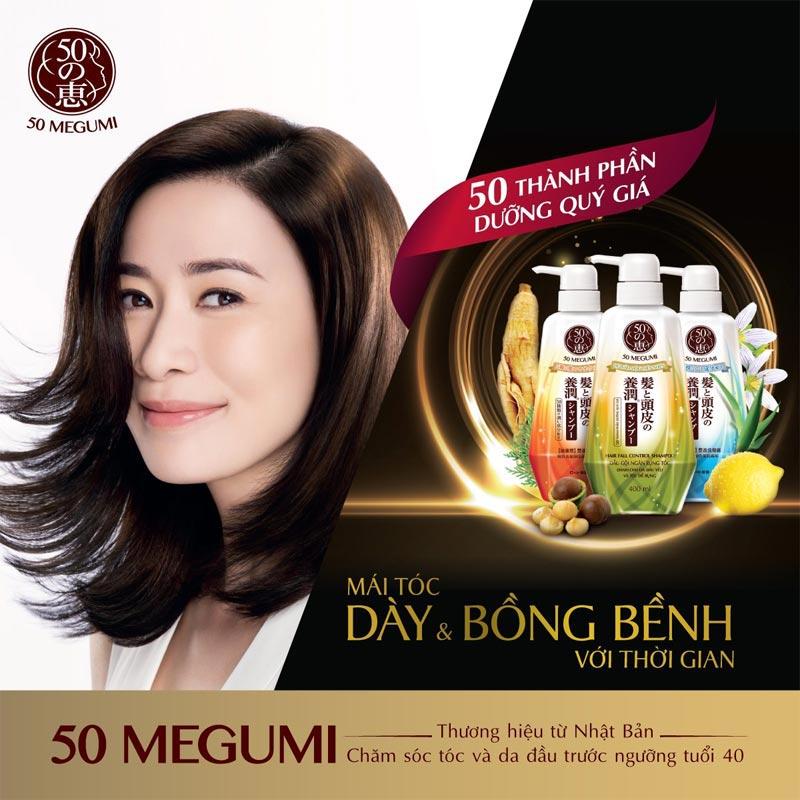 50 Megumi Hair Fall Control Shampoo 250ml