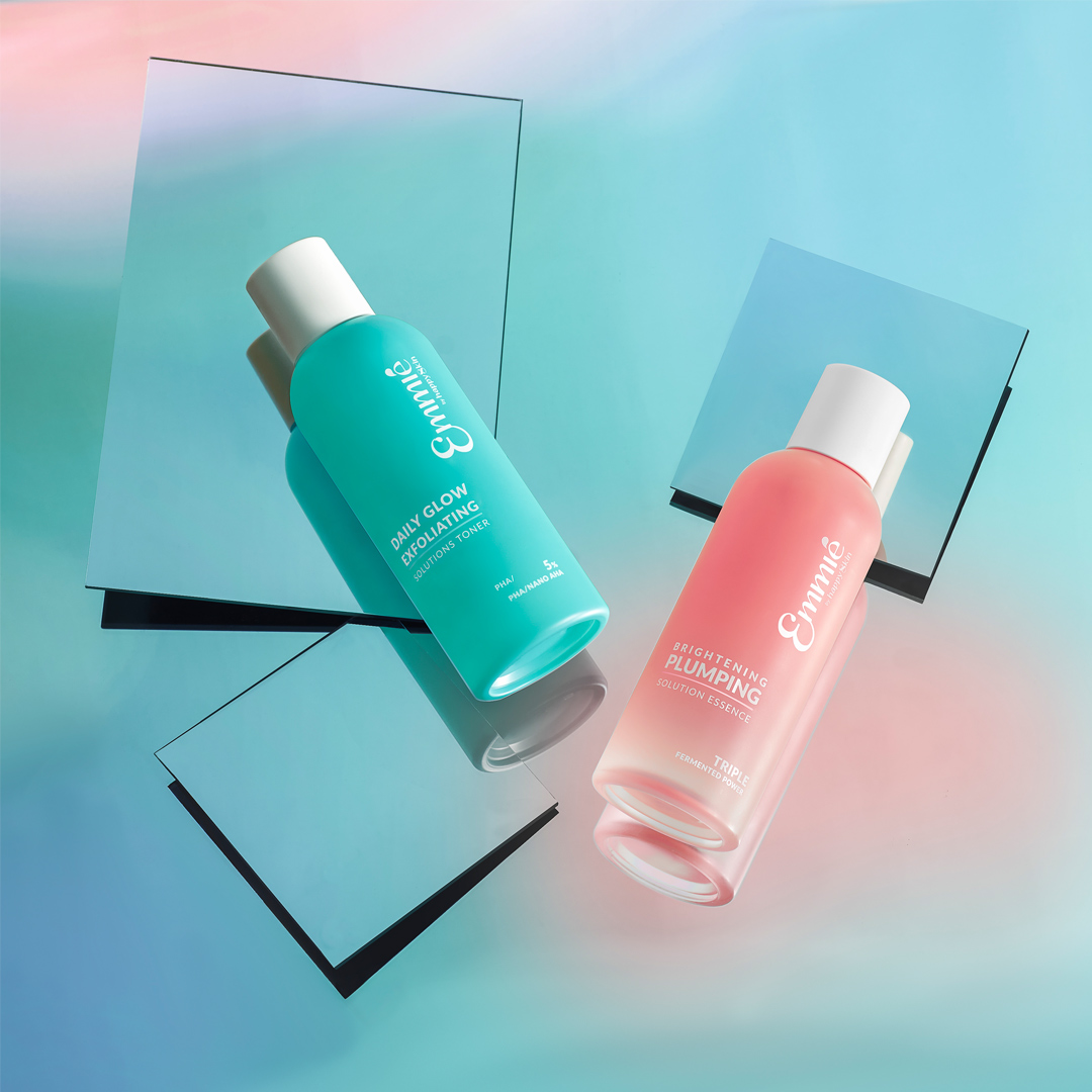 Dung Dịch Emmié by Happy Skin Daily Glow Exfoliating Solutions Toner 5% PHA/ NANO AHA 230ml
