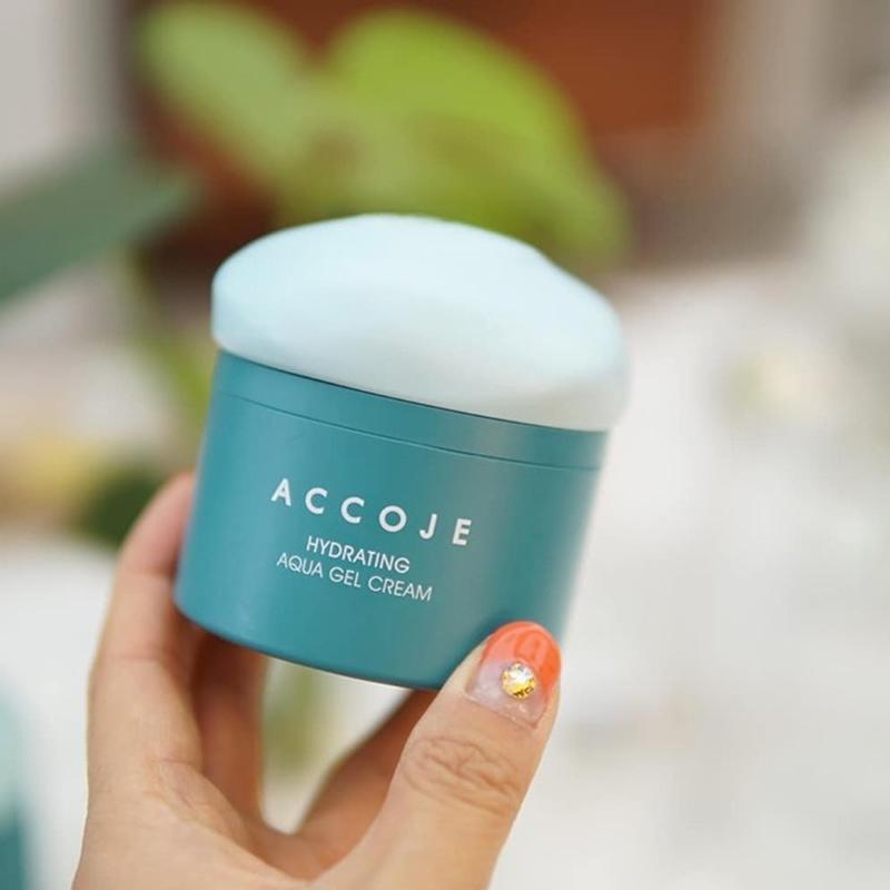 Gel Dưỡng Accoje Cấp Ẩm Chuyên Sâu Hydrating Aqua Gel Cream