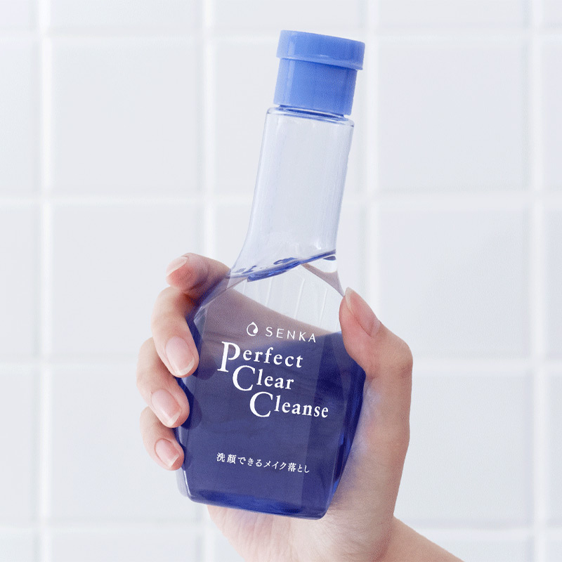 Gel Rửa Mặt Tẩy Trang Senka Perfect Clear Cleanser 170ml Hasaki