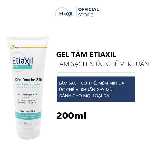 Gel Tắm Etiaxil Làm Sạch Và Khử Mùi 2 Trong 1 200ml
