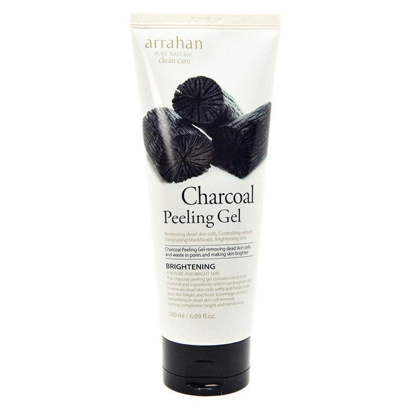 Gel Tẩy Tế Bào Chết Arrahan Than Hoạt Tính Charcoal Peeling Gel 180ml