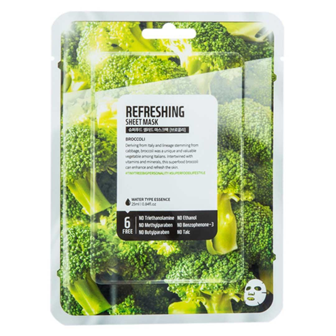 Mặt Nạ Dưỡng Da Farmskin Bông Cải Xanh Sáng Da Superfood Salad For Skin - Broccoli