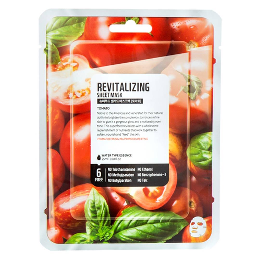 Mặt Nạ Dưỡng Da Farmskin Cà Chua Phục Hồi Da Superfood Salad For Skin - Tomato