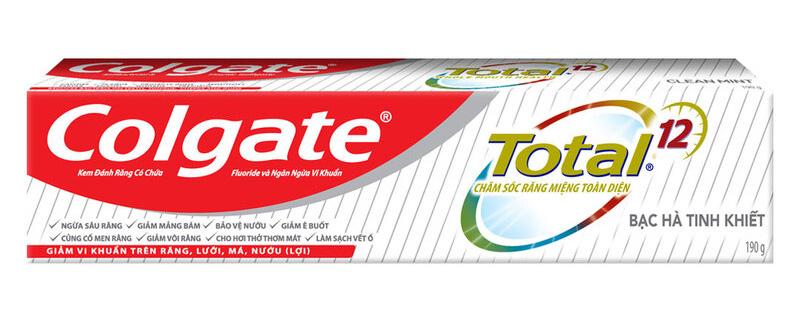 Kem Đánh Răng Colgate Total Clean Mint 190g
