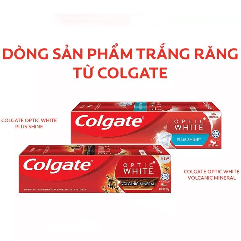Kem Đánh Răng Colgate Làm Sáng Răng Optic White 100g