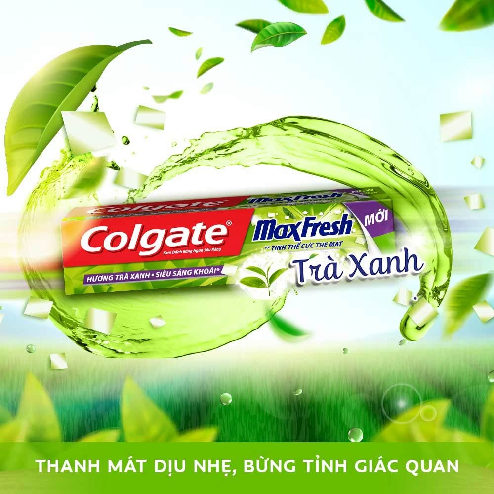 Kem Đánh Răng Colgate Trà Xanh + Tặng Bàn Chải Đánh Răng