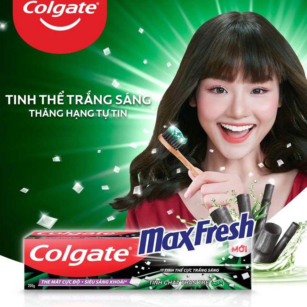 Kem Đánh Răng Colgate Than Tre + Tặng Bàn Chải Đánh Răng