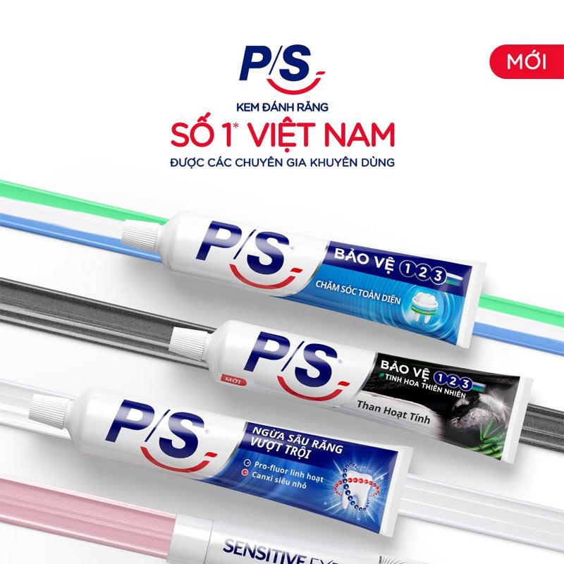 Kem Đánh Răng P/S Ngừa Sâu Răng Vượt Trội 240g