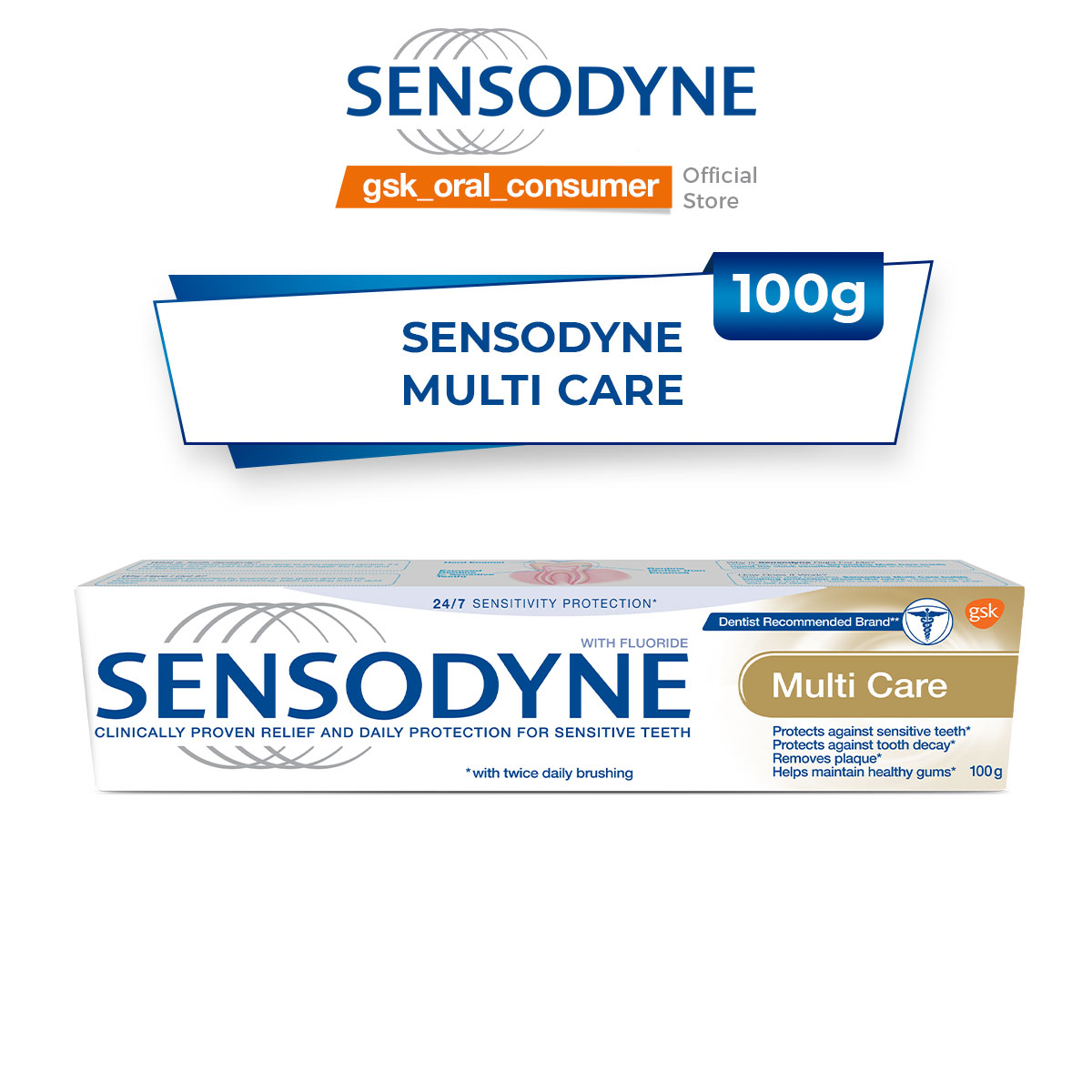Sensodyne Multi Care Bảo Vệ Toàn Diện