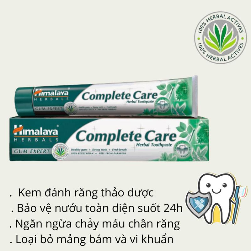Kem Đánh Răng Thảo Mộc Himalaya Herbals Complete Care Toothpaste