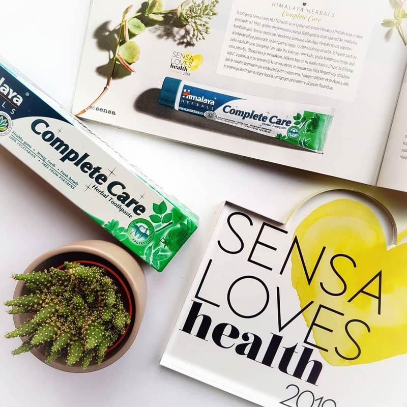 Kem Đánh Răng Thảo Mộc Himalaya Herbals Complete Care Toothpaste 100g