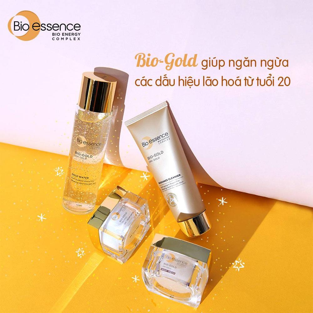 Kem Dưỡng Bio-essence Bio-Essence Gold Night Cream 40g