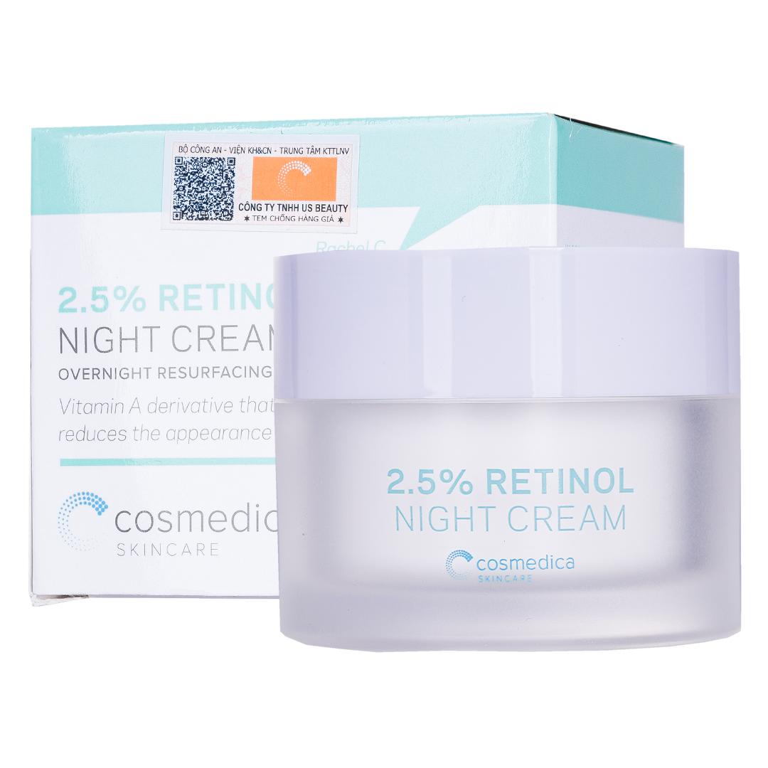 Kem Dưỡng Cosmedica 2.5% Retinol Dành Cho Ban Đêm 50g