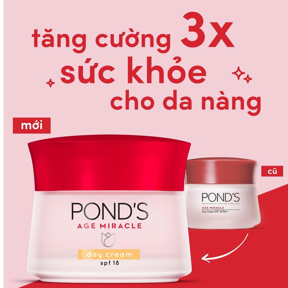 Kem Dưỡng Da Pond's Ngăn Ngừa Lão Hoá Cho Ban Ngày 50g