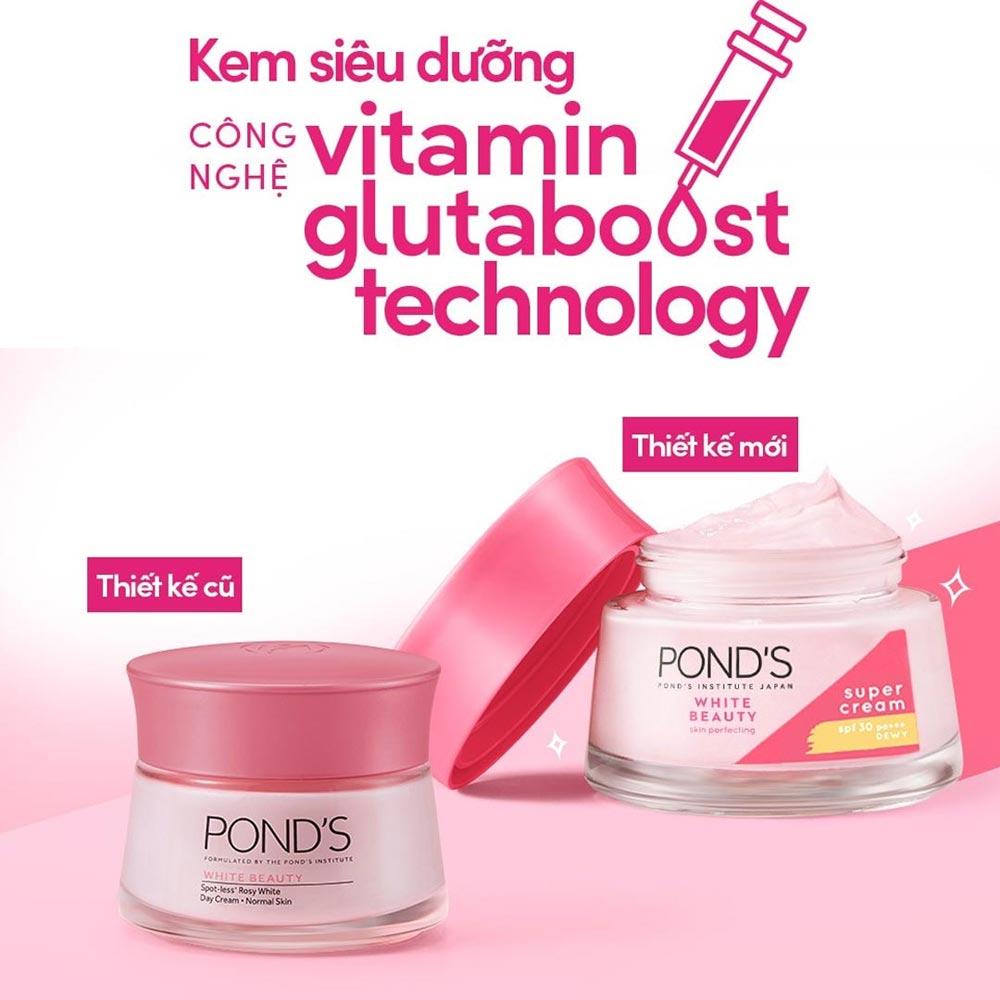Kem Dưỡng Da Pond's White Beauty Super Cream 50g