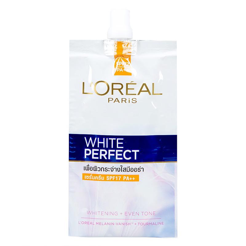 Kem Dưỡng L'Oreal Sáng Da Vitamin Ban Ngày SPF17 PA++ White Perfect 7ml