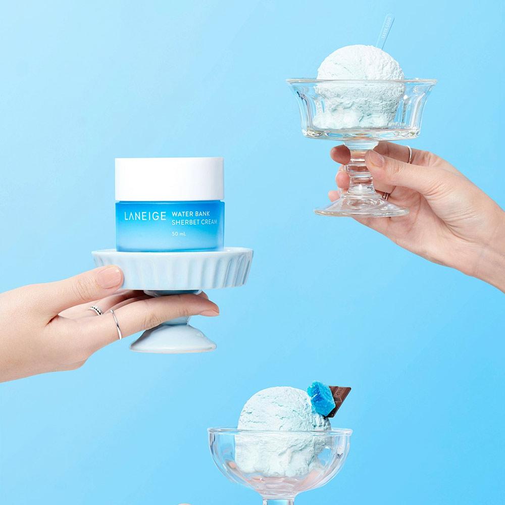 Kem Dưỡng Laneige Water Bank Sherbet Cream 50ml Hasaki