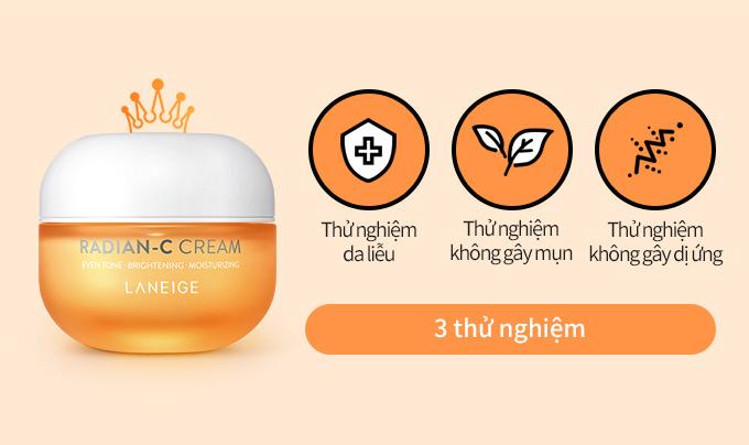 Kem Dưỡng Laneige Sáng Da Làm Mờ Đốm Nâu Radian-C Cream có hiệu quả không
