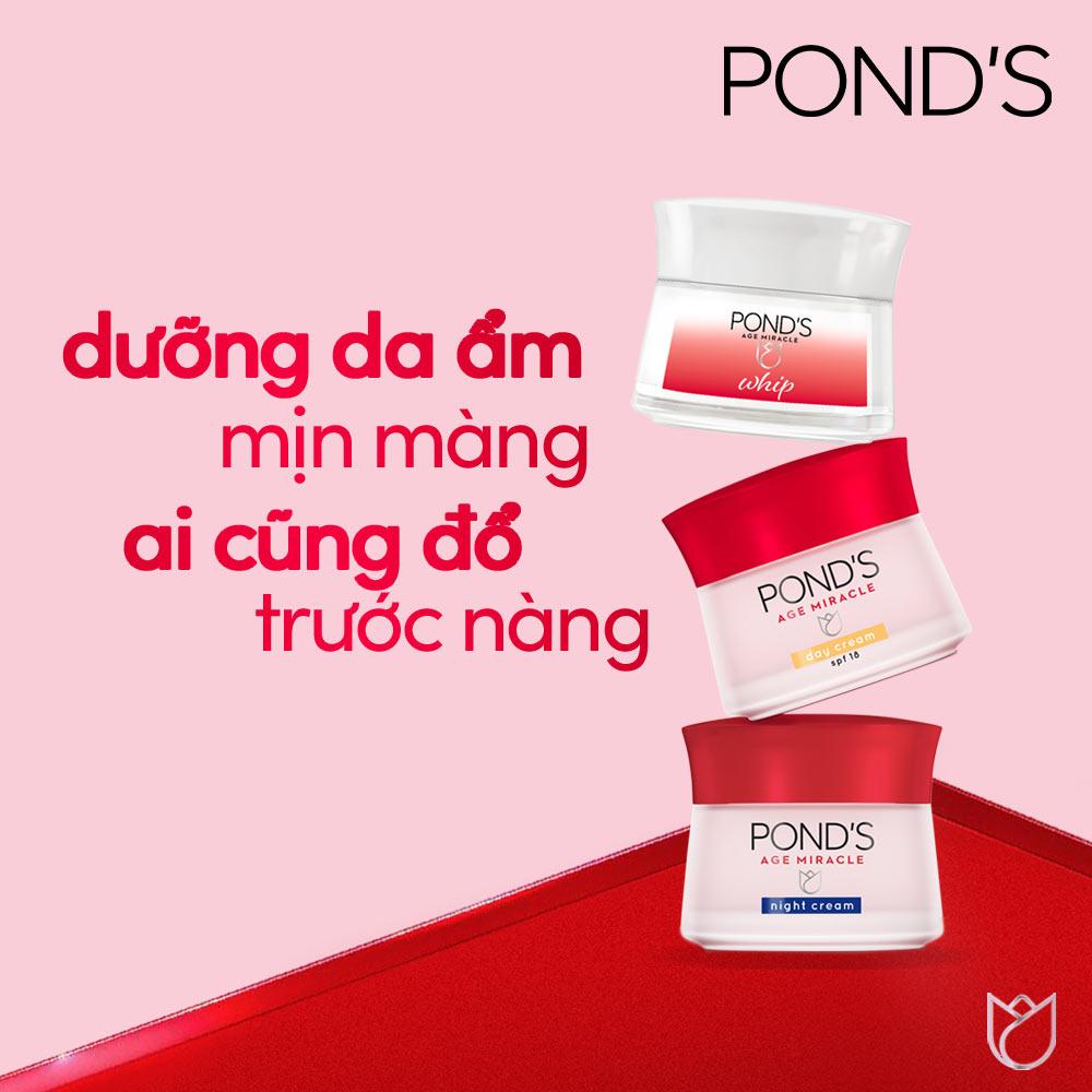 Kem Dưỡng Pond's Age Miracle Whip Ngăn Ngừa Lão Hóa 50g Hasaki