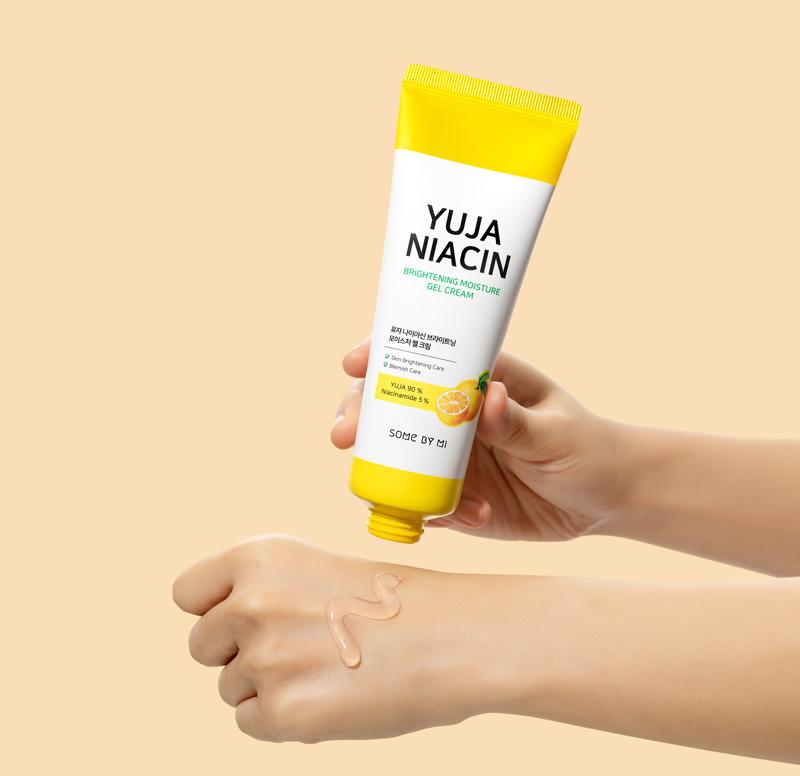 Kem Dưỡng Sáng Da SOME BY MI Chiết Xuất Quả Thanh Yên Yuja Niacin Brightening Moisture Gel Cream 30ml