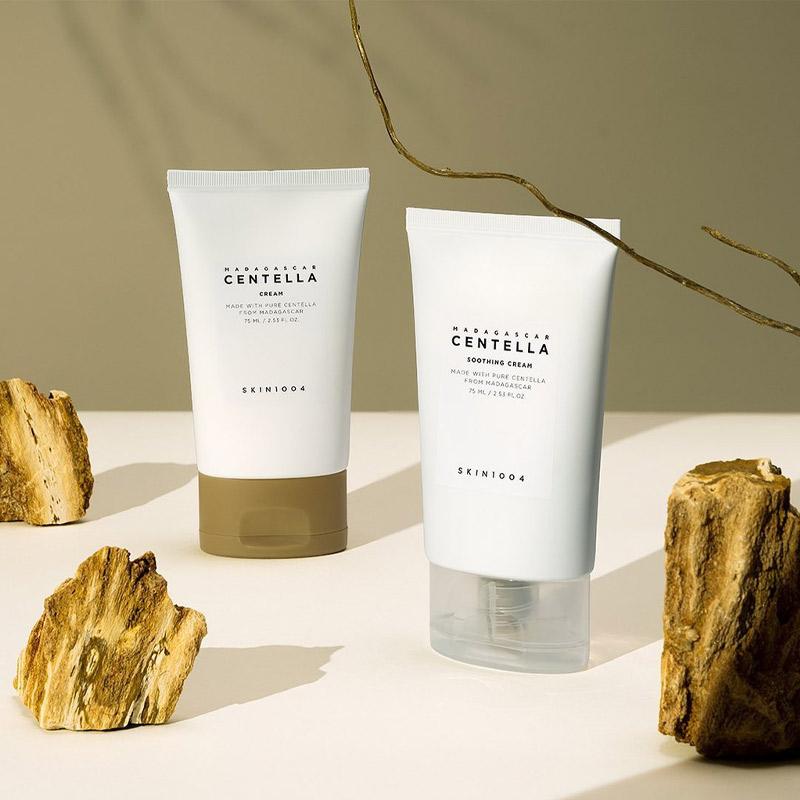 Kem Dưỡng Skin1004 Làm Dịu Da Chiết Xuất Rau Má Madagascar Centella Soothing Cream 75ml