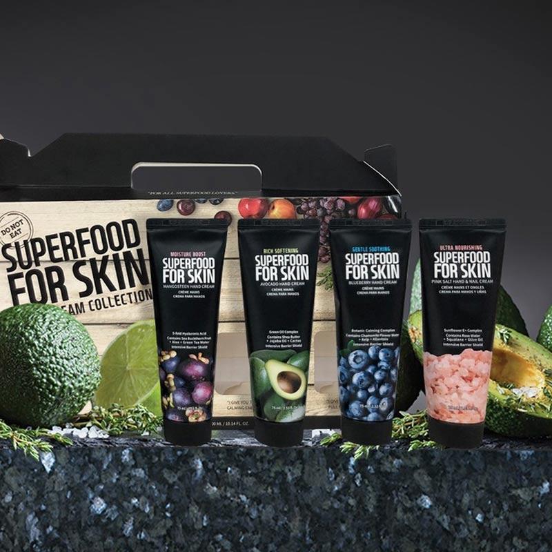 Kem Dưỡng Tay Farmskin Superfood For Skin Hand Cream 75ml