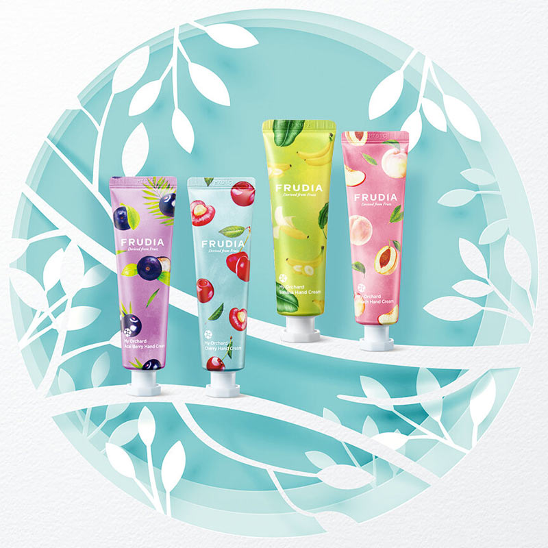 Kem Dưỡng Tay FRUDIA My Orchard Hand Cream Rich Nourishment 30ml