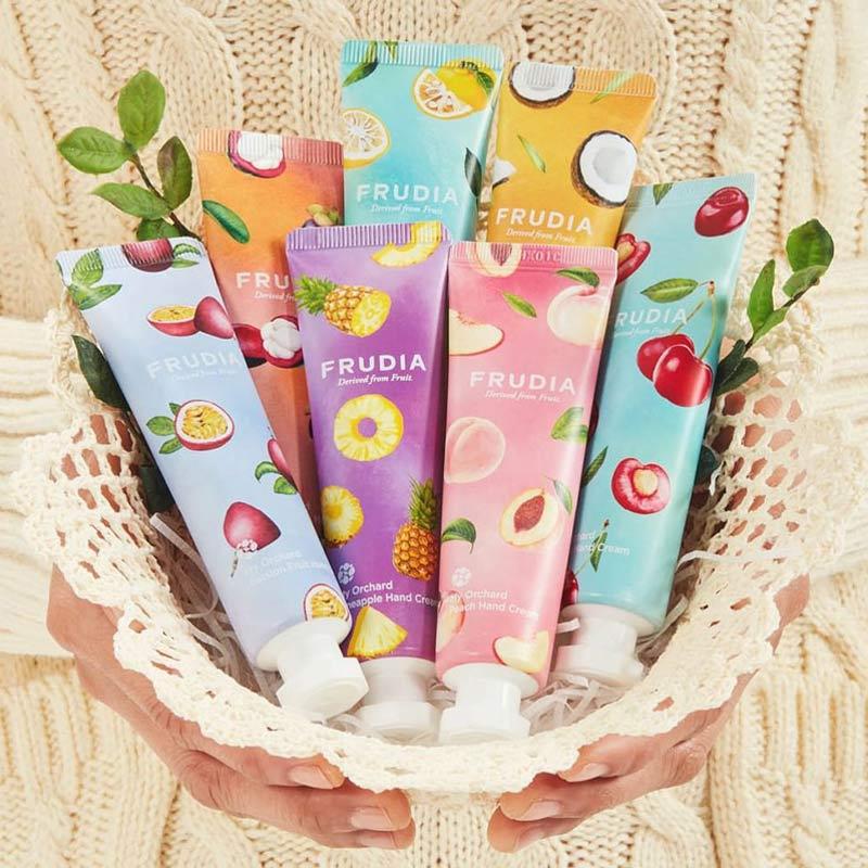 Kem Dưỡng Tay FRUDIA My Orchard Hand Cream Hasaki