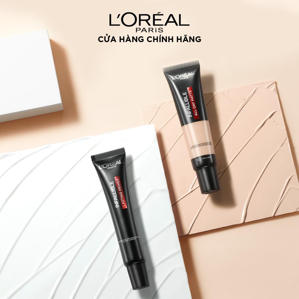 Kem Lót L'Oréal Infallible Kiềm Dầu Bền Màu Lâu Trôi