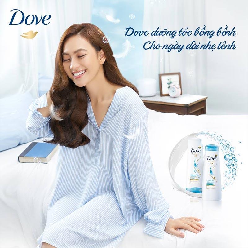 Kem Xả Dove Dưỡng Tóc Bồng Bềnh 320g Hasaki
