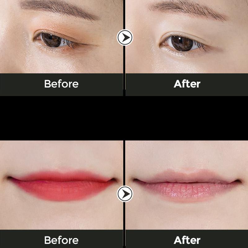 Khăn Ướt Tẩy Trang Mắt Môi B.O.M Chiết Xuất 8 Loại Trà Eight Tea Lips & Eyes Makeup Remover Pad