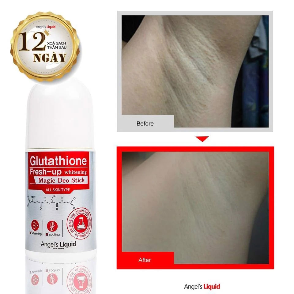 Glutathione Fresh-Up Whitening Magic Deo Stick