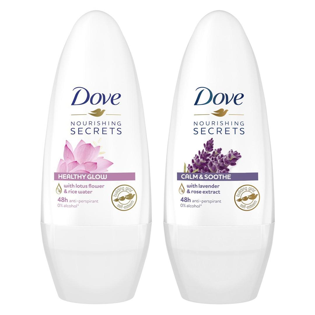 Lăn Khử Mùi Cho Nữ Dove Nourishing Secret 40ml