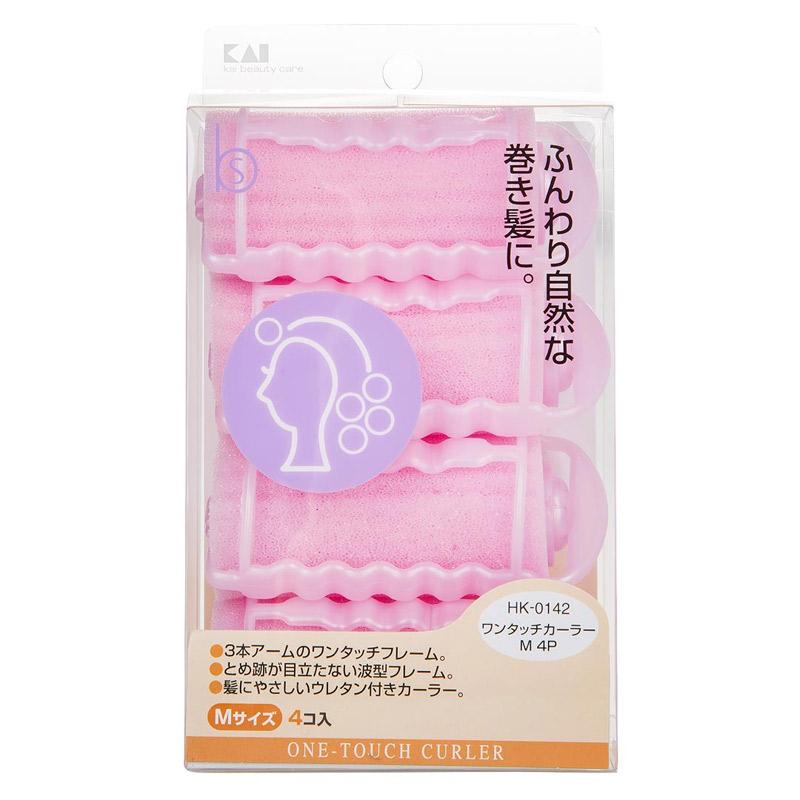 Lô Cuốn Tóc KAI Size M HK-0142 (4 Cái)