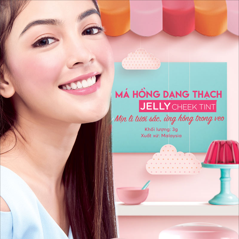 Silkygirl Jelly Cheek Tint