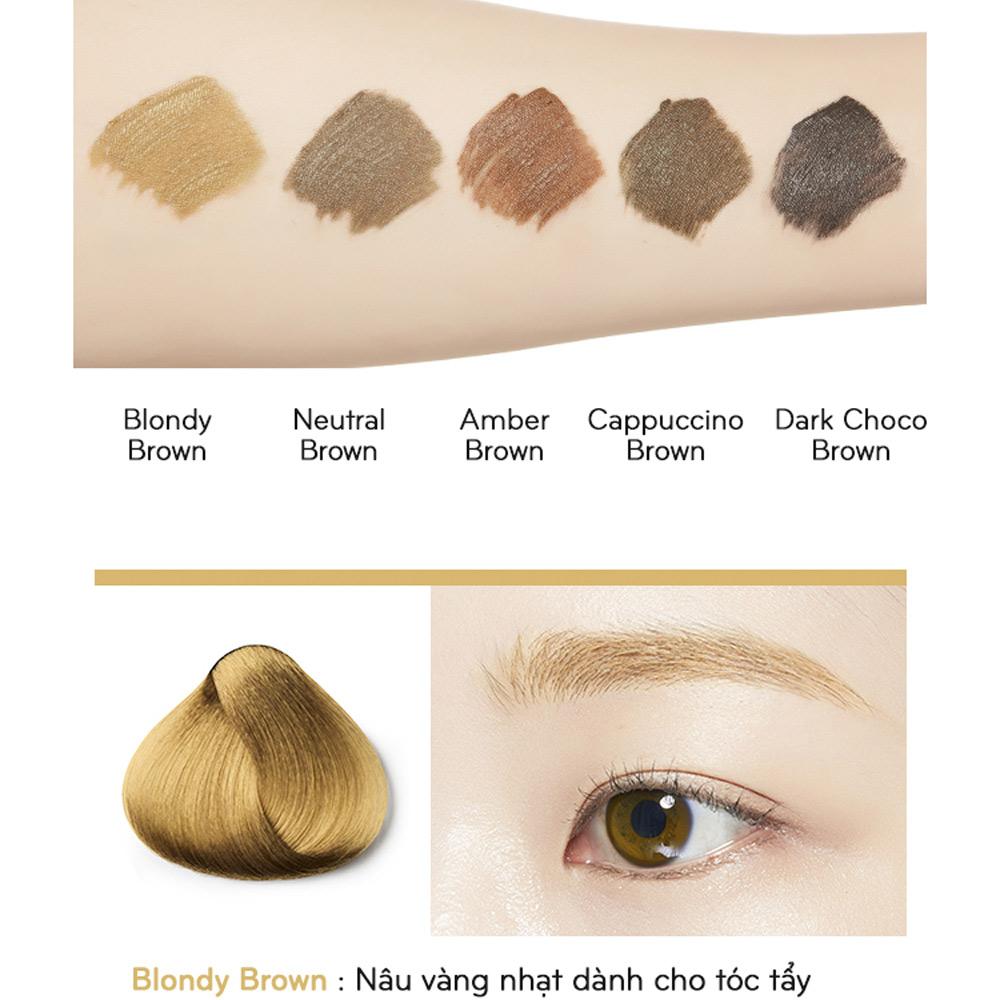 Mascara Chân Mày Missha Color Wear Browcara