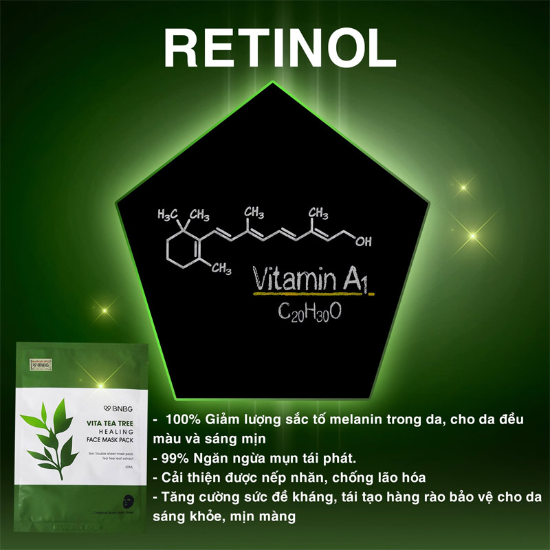 BNBG Vita Tea Tree Healing Face Mask Pack 30ml
